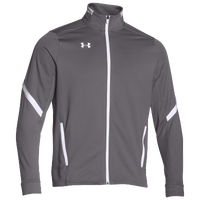 Under Armour Team Qualifier Warm-Up Jacket - Men's - Grey / White