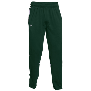 Under Armour Team Qualifier Warm-Up Pants - Men's - Forest Green/White