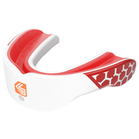 Shock Doctor Gel Max Power Flavored Mouthguard - Adult - Red / White
