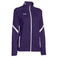 Under Armour Team Qualifier Warm-Up Jacket - Women's - Purple / White