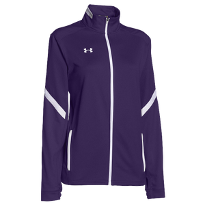 Under Armour Team Qualifier Warm-Up Jacket - Women's - Team Purple/White