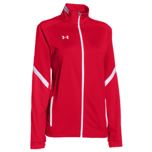 Under Armour Team Qualifier Warm-Up Jacket - Women's - Team Red/White