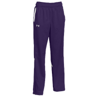Under Armour Team Qualifier Warm-Up Pants - Women's - Purple / White