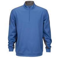 PGA Tour Tech Fleece 1/4 Zip - Men's - Blue / Grey