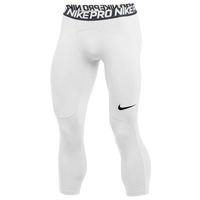 Nike Pro 3/4 Tights - Men's - White
