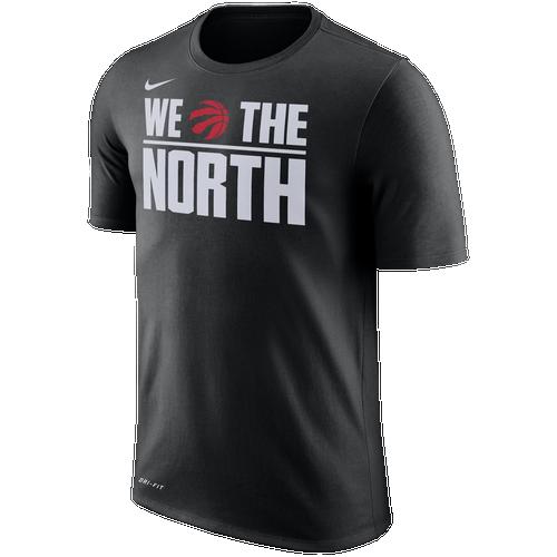 Adidas Toronto Raptors - We The North Tee Basketball Black QLA
