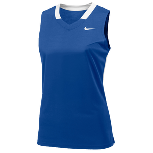 Nike Team Face-Off Sleeveless Game Jersey - Women's - Team Game Royal/White
