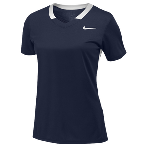 Nike Team Face-Off Game Jersey - Women's - Team College Navy/White