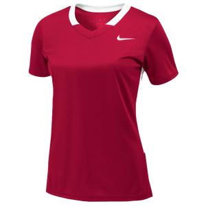 Nike Team Face-Off Game Jersey - Women's - Team University Red/White