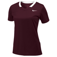 Nike Team Face-Off Game Jersey - Women's - Maroon / White