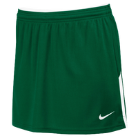Nike Team Face-Off Kilt - Women's - Dark Green / White