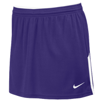 Nike Team Face-Off Kilt - Women's - Purple / White