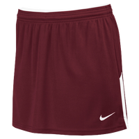 Nike Team Face-Off Kilt - Women's - Maroon / White