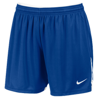 Nike Team Face-Off Game Shorts - Women's - Blue / White