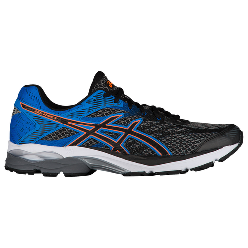 asics gel flux 4 men 39 s running shoes carbon black. Black Bedroom Furniture Sets. Home Design Ideas