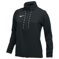 Nike Team Dry Jacket - Women's - All Black / Black