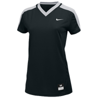 Nike Team Dri-FIT Game Top - Women's - Black / Grey