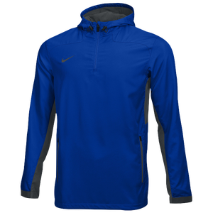 Nike Team Woven 1/4 Zip Jacket - Men's - Team Game Royal/Team Anthracite/Team Anthracite