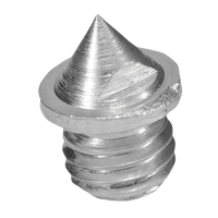 Blazer Pyramid Spikes 100 Count Package - Silver