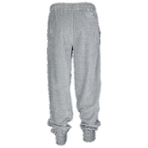 12f9fc18c281a Fila Jodi Velour Track Pants - Women's - Casual - Clothing - Grey Heather