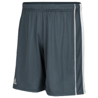 adidas Team Utility 3 Pocket Shorts - Men's - Grey / White