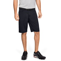 Under Armour Tech Golf Shorts - Men's - All Black / Black