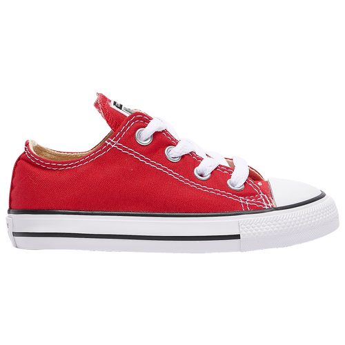 youth converse shoes red