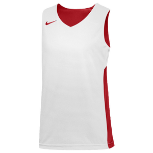 Nike Team Reversible Tank - Boys' Grade School - Scarlet/White