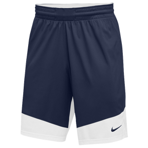 Nike Team Practice Shorts - Boys' Grade School - Navy/White