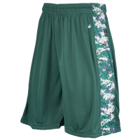 Badger Sportswear B-Attack Shorts - Men's - Dark Green / White