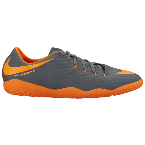 Nike Hypervenom PhantomX 3 Academy IC Men's Dark Grey/Total Orange/White 7278081