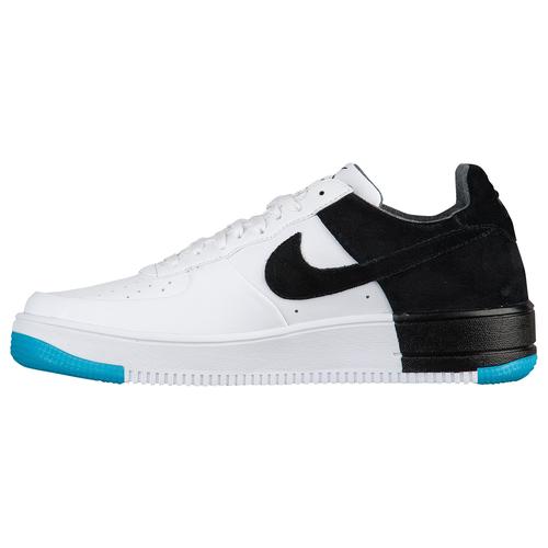 Nike AF1 Ultraforce Low - Men's Casual - White/Black/Dark Turquoise/White 73309103