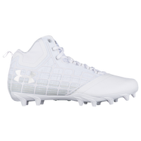 Under Armour Banshee Mid MC - Men's - All White / White