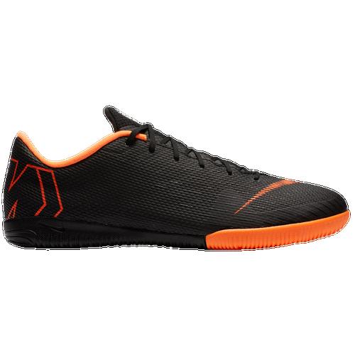 Nike Mercurial VaporX 12 Academy IC Men's Black/Total Orange/White 7383081