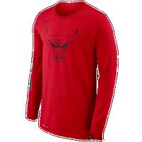 8b5aabff9a03 Nike NBA Legacy L S T-Shirt - Men s - Chicago Bulls - Red