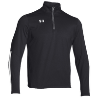 Under Armour Team Qualifier 1/4 Zip - Men's - Black / White