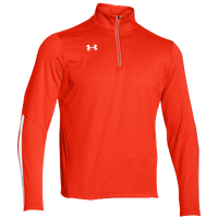 Under Armour Team Qualifier 1/4 Zip - Men's - Orange / White