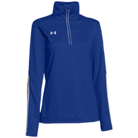 Under Armour Team Qualifier 1/4 Zip - Women's - Blue / White
