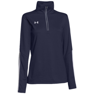 Under Armour Team Qualifier 1/4 Zip - Women's - Team Navy/White