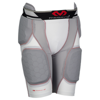 McDavid Rival Pro 5 Pad Girdle - Grade School - White / Grey