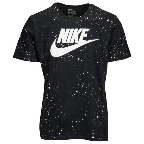 nike graphic t shirt men 39 s casual clothing black white. Black Bedroom Furniture Sets. Home Design Ideas