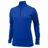 Nike Team Dri-FIT 1/2 Zip - Women's - Blue / Blue
