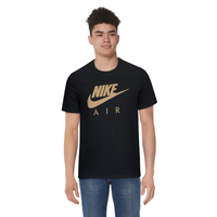 Nike Graphic T-Shirt - Men's - Casual - Clothing - Black/Gold