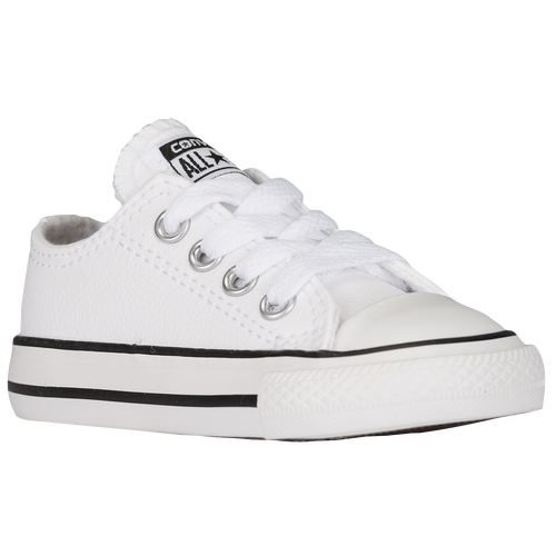 ea30e7a0dc25 Converse All Star Ox Leather - Boys  Toddler - Basketball - Shoes - White
