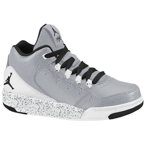 Jordan Flight Origin 2 - Boys' Preschool - Casual - Basketball - Cool Grey/ White/Wolf Grey