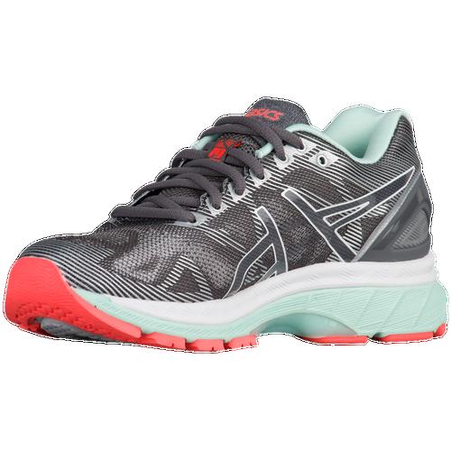 ASICS® GEL-Nimbus 19 - Women's - Running - Shoes - Carbon/White/Flash Coral