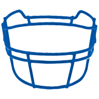 Schutt ROPO-TRAD Vengeance Carbon Steel Facemask - Men's - Blue / Blue