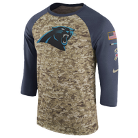 Nike NFL Salute To Service 3 4 Raglan T-Shirt - Men s - Carolina ad24b2df2