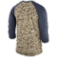 b84f24bc473 Nike NFL Salute To Service 3/4 Raglan T-Shirt - Men's - Oakland