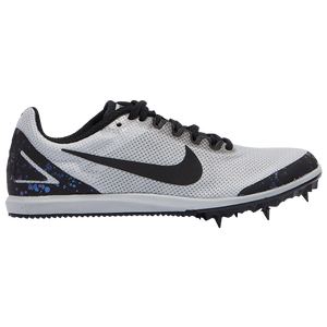 Nike Zoom Rival D 10 - Girls' Grade School - Pure Platinum/Black/Indigo Fog